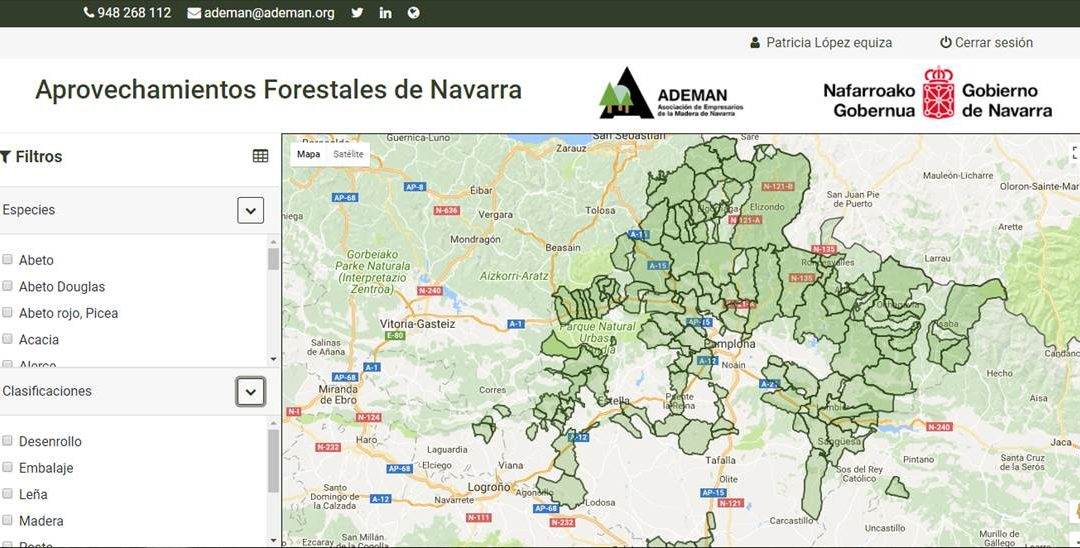Presentamos MADERA NAVARRA, mucho más que una web para conocer los aprovechamientos forestales de Navarra.