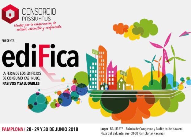 ADEMAN estará presente en EDIFICA,  la primera Feria de los edificios de consumo casi nulo, pasivos y saludables.