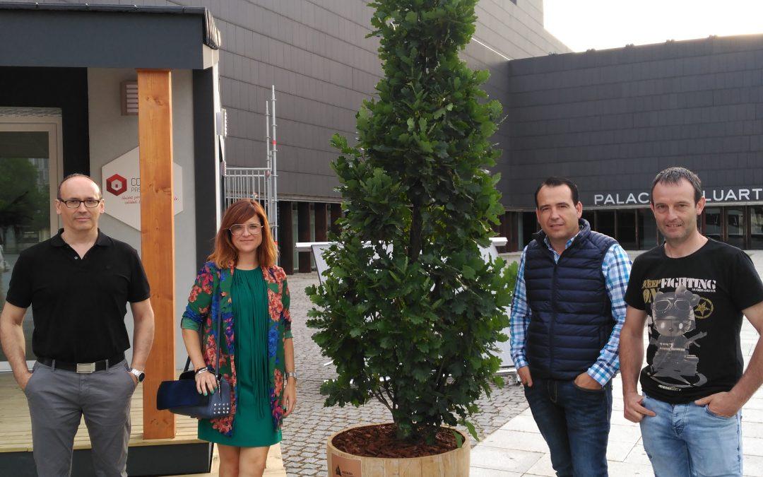 La MADERA representada por ADEMAN en EDIFICA, la feria de los edificios de consumo cero, pasivos y sostenibles