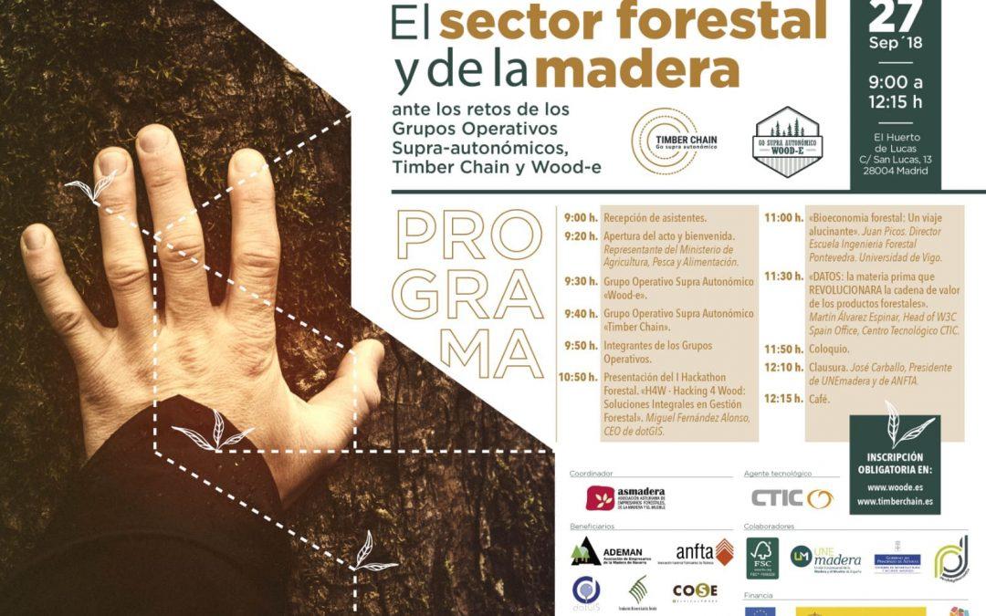 Jornada final Grupos Operativos para la innovación del sector forestal y de la madera