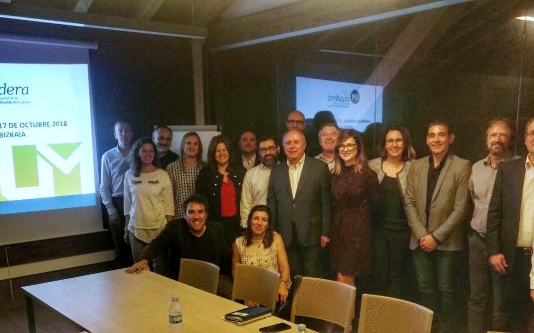 UNEmadera, la agrupación nacional de empresas de la madera y mueble celebra su Asamblea General en Bilbao, coincidiendo con la VII Edición de EGURTEK