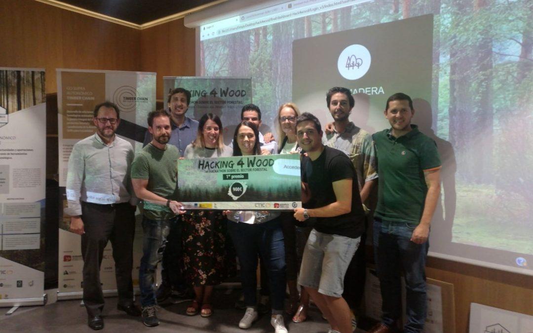 Se celebra el primer Hackathon forestal «Hacking4Wood»