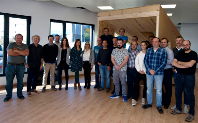 17 empresas del sector de la madera se forman en edificación pasiva bajo el estándar Passivhaus