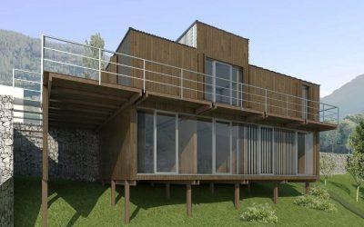 El arte de proyectar con madera: la experiencia de tres estudios de arquitectura navarros.