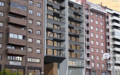 Navarra diseña su primer edificio Passivhaus en MADERA de altura, para viviendas de alquiler social:                                               Proyecto Zure-tokia