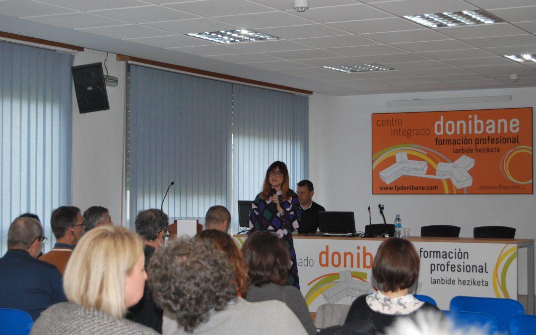 ADEMAN colabora con el Centro de Formación FP Donibane para analizar el sector y los retos de futuro