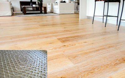 Suelos radiantes de madera: compromiso entre confort, nobleza y eficiencia energética