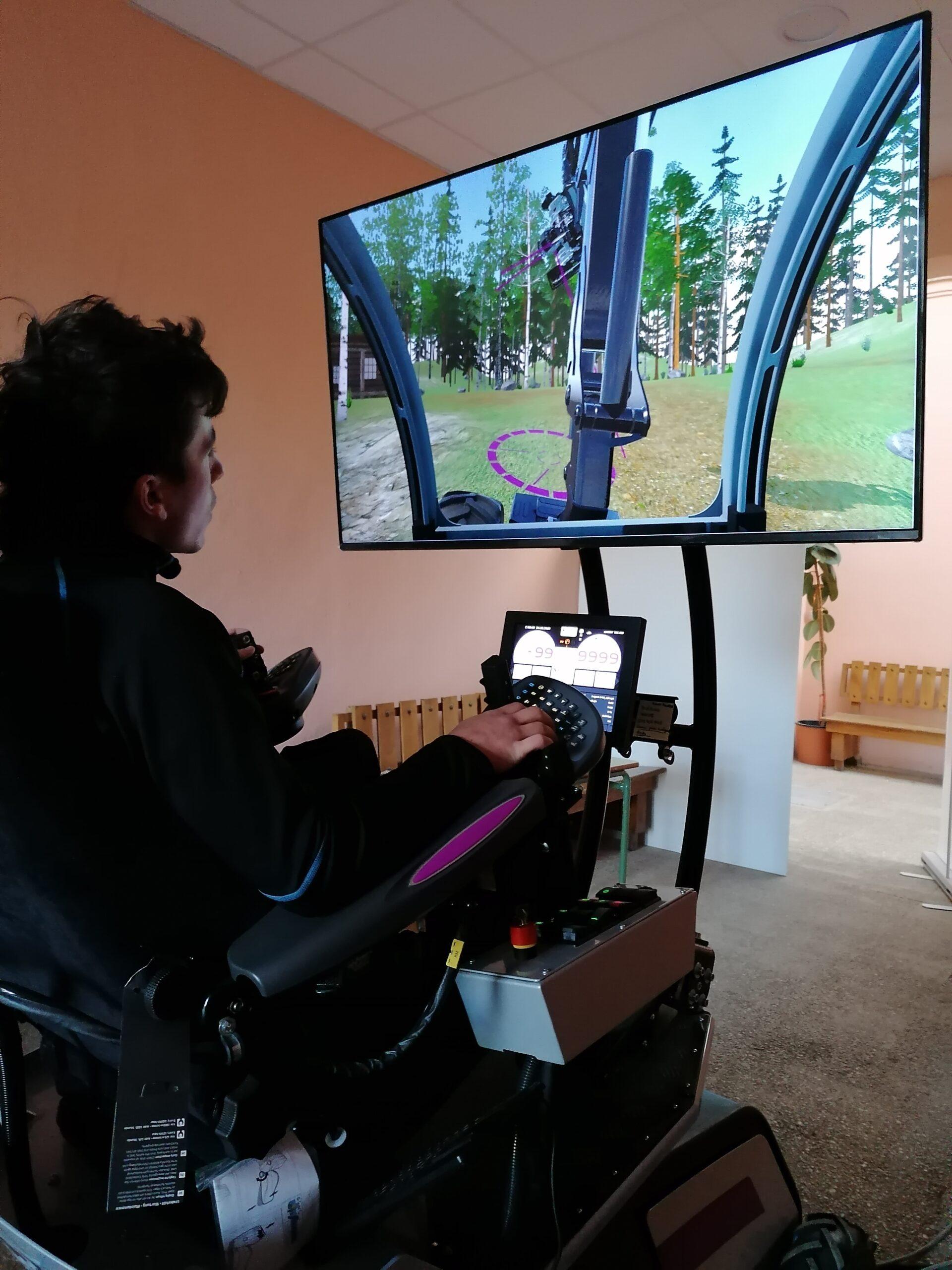 Nuevas tecnologías aplicadas a la formación: los simuladores de maquinaria forestal