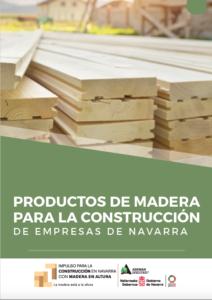 Catálogo de Productos de Madera para la Construcción de Empresas de Navarra