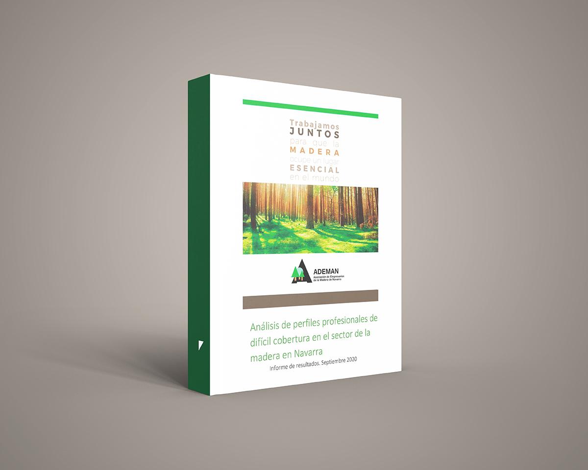 """Análisis de perfiles profesionales de difícil cobertura en el sector de la madera en Navarra"""