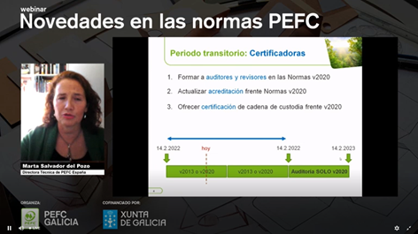 Marta Salvador del Pozo - Directora Técnica PEFC España