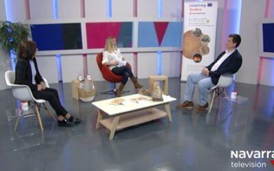 """NASUVINSA y ADEMAN promueven el uso de la Biomasa local en el Programa """"La Muga"""" de Navarra Televisión"""